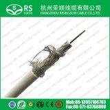 RG6/U cabo coaxial de quádrupla blindagem de cabo (F660QS/F690QS)