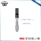 Commerce de gros 0.5ml double à usage unique bobines Cartouche d'huile de chanvre CBD Vape d'huile E-cigarette de plumes