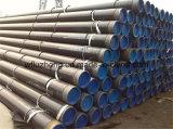 Linha sem emenda tubulação de aço, tubulação de aço de SSAW 16inch, 18 polegadas GR preta. Linha tubulação de B