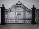 Iron labrado Gate para Home Decoration