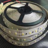 24 iluminaciones de tira flexibles de voltio LED/tira flexible 2835SMD de la cinta del LED