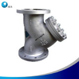 ANSI of Steel's Carbon Wcb Of flange Y -Type Of filter Of strainer of with of 40 Mesh
