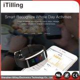 Fitness Tracker Smart Bracelet Watch Monitor de ritmo cardíaco inalámbrico remoto Pulsera inteligente podómetro recordatorio Fitness