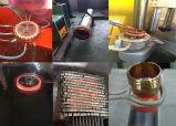 40kw enclume en fer forgé forger le chauffage par induction de l'induction de l'équipement de soudage