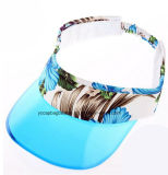 El mejor sombrero del visera del PVC Bill Sun del servicio