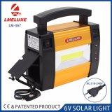 Accueil lumière solaire avec des ampoules à LED 3 W