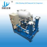 De Huisvesting van de Filter van de zak met de Compressor van de Pomp en van de Lucht