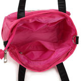 Saco de Tote ocasional das mulheres da forma da bolsa de nylon impermeável do ombro