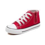 Lienzo de tobillo alto clásico zapatos para niños