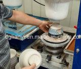 Due piatti di ceramica/stampatrice rilievo ciotola/del piatto di colore