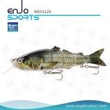 La multi pesca dura congiunta attira l'attrezzatura di pesca dell'esca di pesce d'acqua dolce & del sale