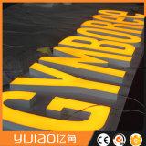 Comitato acrilico acrilico esterno del segno della lettera di Frontlit LED