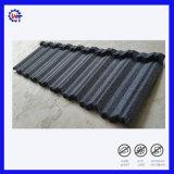 Fácil instalación de acero galvanizado recubierto de piedra de teja metálica