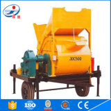 (JDC-500) Equipamento horizontal elétrico do misturador concreto da linha central