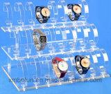 Vertoning van het Horloge van de Kwaliteit van de Prijs van de bodem de Super Hete Acryl