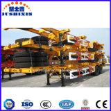 반 Industrila 도매 자동 트럭 20feet 콘테이너를 위한 해골 포좌 트레일러