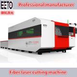 tagliatrice del laser della fibra 1500W per il CS per il taglio di metalli 14mm degli ss