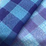 mousseline de soie cationique du plaid 68d*50d pour la robe de vêtement d'écharpe