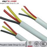 Groupe de câbles du peuple d'alimentation du câble en acier inoxydable à revêtement en PVC