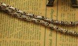 メンズネックレスの吊り下げ式の金または銀カラーステンレス鋼の鎖厚いヨーロッパおよびアメリカの人のネックレス