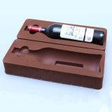 Inserts en plastique personnalisés flocage Bac pour bouteille de vin