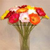 PU Gerbera Daisy pièces maîtresses de faux Gerbera Gerbera Daisy de fleurs artificielles