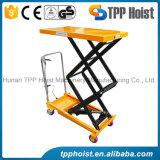 300kg Table élévatrice mobile de la table élévatrice manuelle de type ciseaux