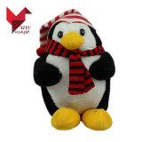 Het nieuwe Stuk speelgoed van de Pinguïn van Kerstmis van 2017 Pluche Gevulde met Hoed