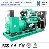 750kVA de hoge Reeks van de Generator Votage 10-11kv met Googol Motor 50Hz