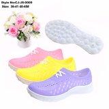 Желе цвет Holey Poes новых материалов для женщин и повседневная обувь для лета