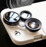 iPhone Case with Wide Angle and Fish Eye and Macro Lens