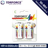 bateria recarregável de China Fatory do hidruro do metal niquelar 1.2V (HR03-AAA 800mAh)