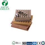 Пол Decking Composited твердой древесины пластичный