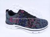 Nouvelle arrivée de femmes exécutant des chaussures de sport Sneaker usine (FZJ0115-2)