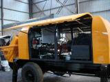 Bewegliche Dieselenergien-Betonpumpe