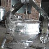 수프를 위한 남비를 또는 설탕 또는 케첩 요리하는 기울거나 수직 재킷 주전자