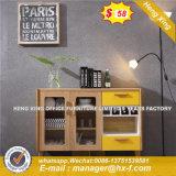 Armoire en bois moderne de verre aluminium / bureau de poste de travail Partition (HX-8N0190)