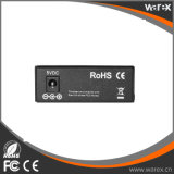 1X 100Base-FX ao conversor dos media de 2X 10/100Base UTP com SC 60km de BIDI T1310/R1550nm