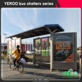 판매를 위한 옥외 도로 시설물 버스 정류소 대피소