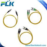Cabos de correção de programa Single-Mode da fibra óptica