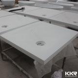 Base di pietra di superficie solida acrilica dell'acquazzone del cassetto dell'acquazzone della resina