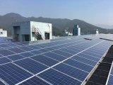 Los paneles solares polivinílicos alemanes de la calidad 255W 60cells para el mercado de Ukrain