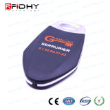 F08 13.56impermeável MHz chave RFID ABS Via Tag para controle de acesso