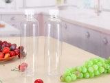 tarros plásticos del jugo del masón 620ml que beben con la tapa de la paja