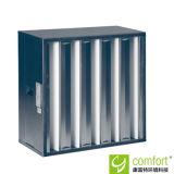 Estrutura de aço galvanizado H13 V-Bank Filtro HEPA