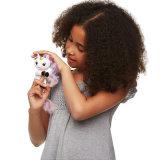 De kleurrijke Elektronische Eenhoorn van de Vinger van de Aap van de Baby van de Aap van de Vinger van het Huisdier voor Kerstmis