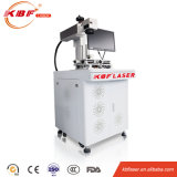 machine debout d'inscription de laser de fibre en métal de 20W Mopa pour l'inscription de logo de cas d'iPhone et l'inscription de couleur