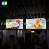 Aluminiumbüro-Rahmen-Menü-Zeichen des gewebe-LED für Plakat-Bildschirmanzeige-hellen Kasten