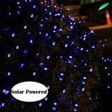 Luz feericamente solar da corda do diodo emissor de luz para a decoração do feriado