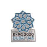 Divertido de alto grau superior de disco personalizada emblema distintivo do Exército de esmalte